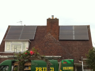 Home Solar PV Install