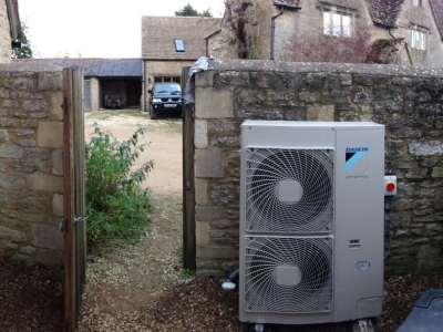 Domestic Heat Pump Install