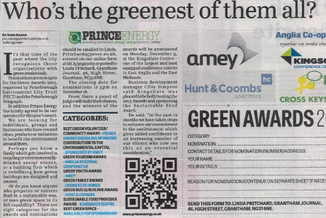 Princeenergy is backing green community