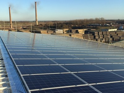 Commercial Solar PV Install